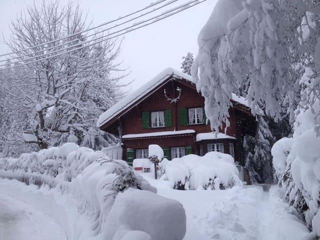 Charmant/gemütlich mitten im Ski- u Wandergebiet