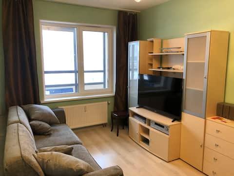 Уютная квартира в ЖК Солнечный город