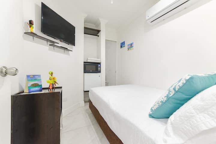 Habitación Doble baño privado, Hotel las Lunas