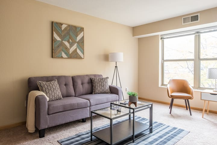Contemporary 1BR Apt in North Loop