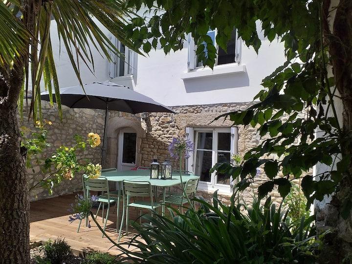 Charmante maison de paludier rénovée avec jardin