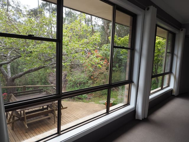 Large windows throughout the house mean lots of light and great garden views.