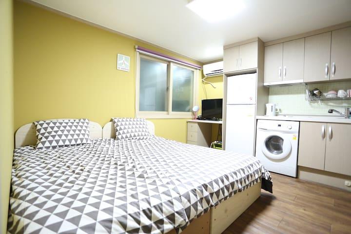 走啊游酒店式家庭公寓 标准房 - Seoul - House