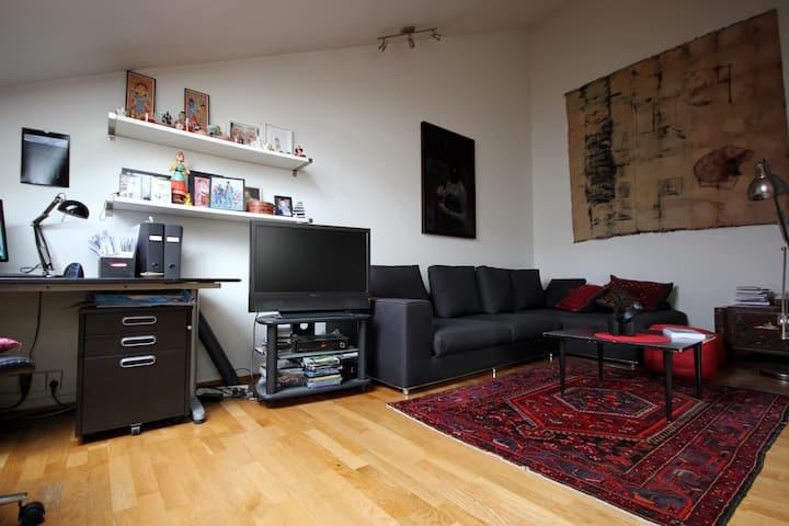 Top floor apartment @ grünerløkka