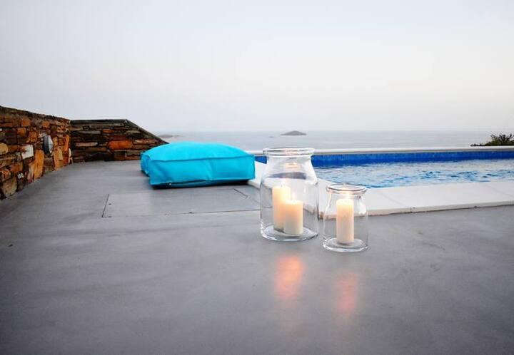 Antigoni Luxury Villas Agios Petros Andros
