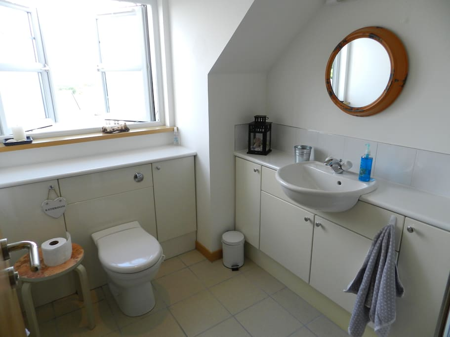 Bathroom: This bathroom with bathtub/shower will be available for your exclusive use during your stay.