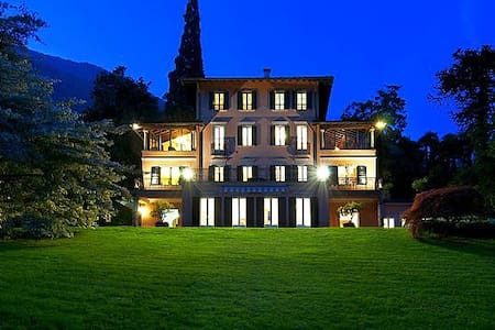 Luxury villa with pool, tennis and much much more! - Santa Maria Rezzonico