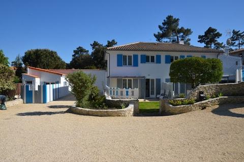 Chambre privée dans une villa, Ile d'Oléron