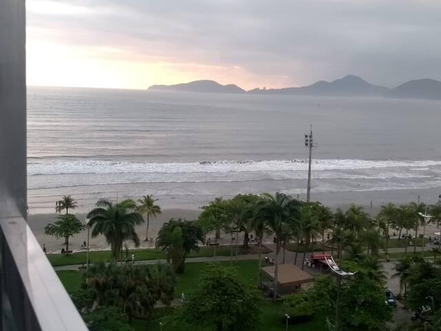 Apto vista mar, melhor região de Santos/Shopping