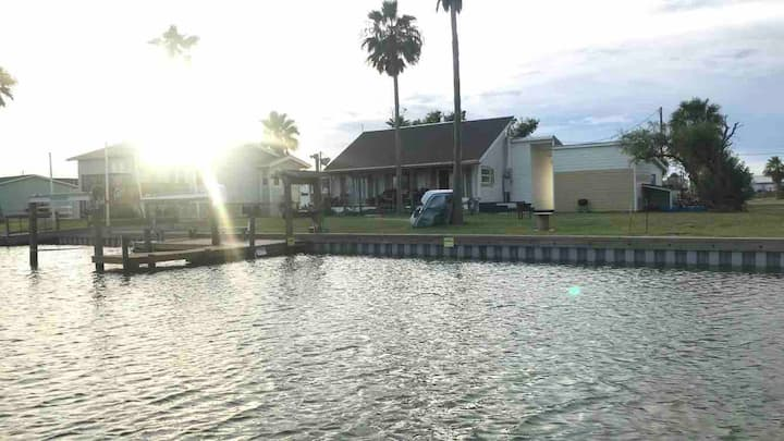 Copano Cove Canal House