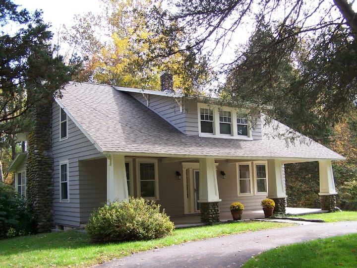 Spacious Creekside Home in High Falls on 7.6 Acres