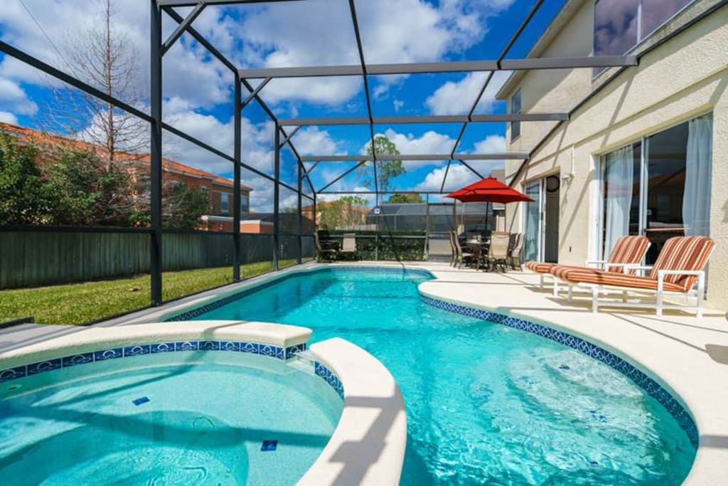 Pool, Water, Resort, Swimming Pool, Fence
