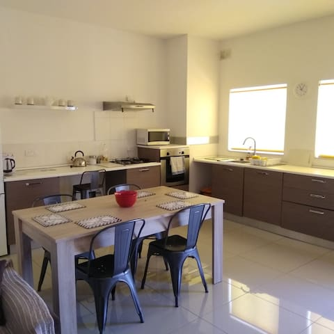 A cheerful,  welcoming  and spacious  apartment.