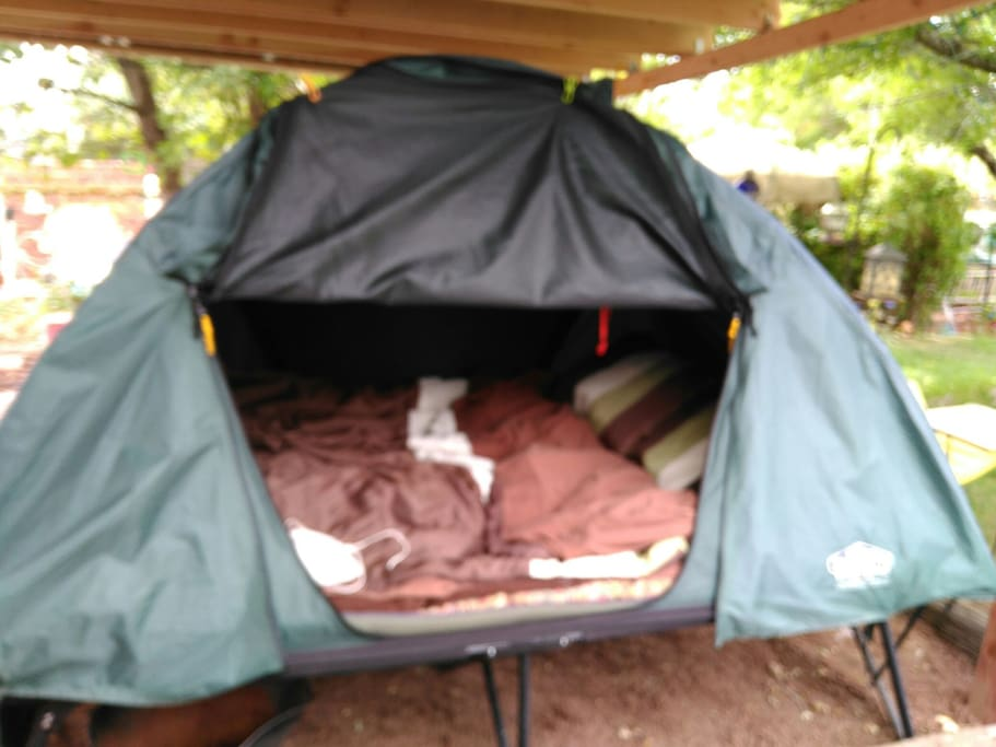 your COZY tent-cot
