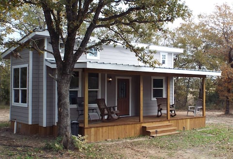Red Raku Writers Cottage