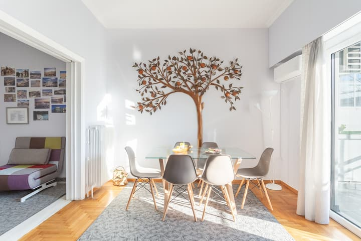 Apple tree cozy apartment in Historical center