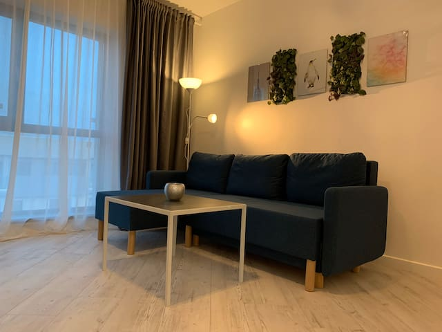 Cosmo cosy 1 bedroom apartment 2 min from the mall