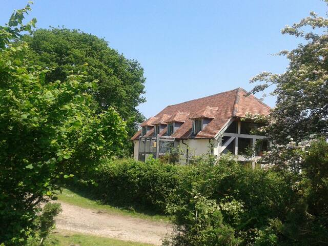 Room with a beautiful view in New Forest Cottage - West Wellow