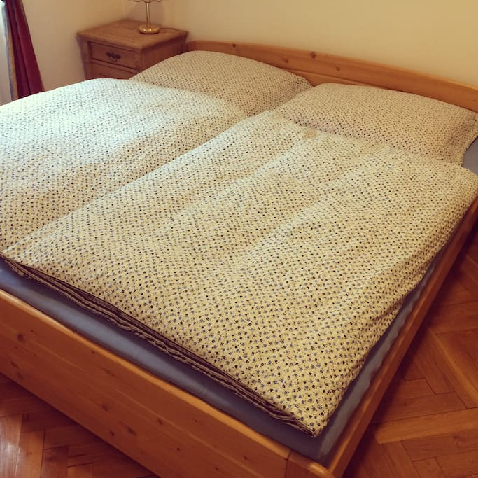 Room 1 Big and comfortable bed - 180x200cm