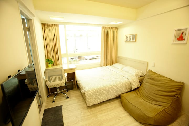 Yongchun cozy room -C 永春舒適套房MRT3min - Xinyi District - Byt