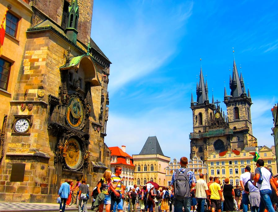 Best located spacious room in the center of prague for Prague location