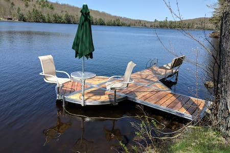 Private Lakefront Home in Bucksport Maine