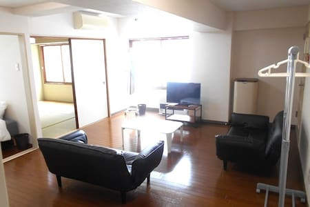 Susukino 5 minutes wide room 3beds portable wifi - 아파트