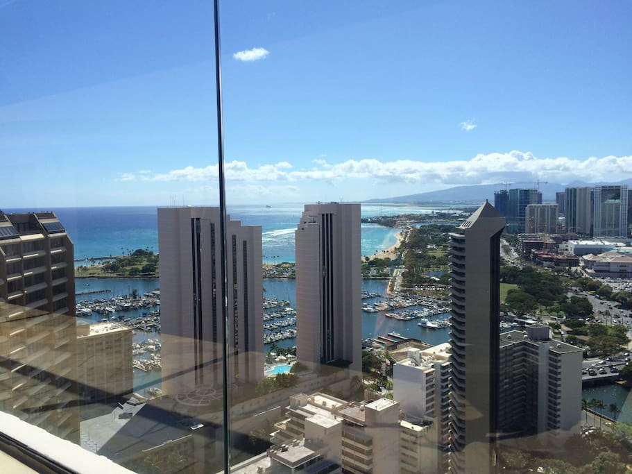 View from Windsor's Sky Tower at top of building