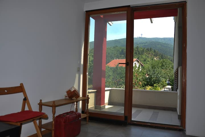 Landscape view room under the mountain