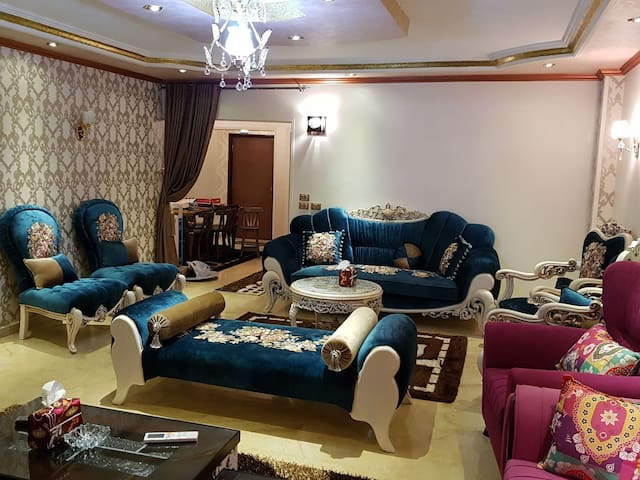 The most luxurious apartment in Mansoura
