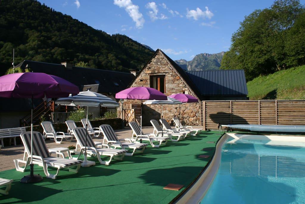 Bel appartement dans vall e pr serv e des pyr n es - Hotel avec jacuzzi dans la chambre midi pyrenees ...