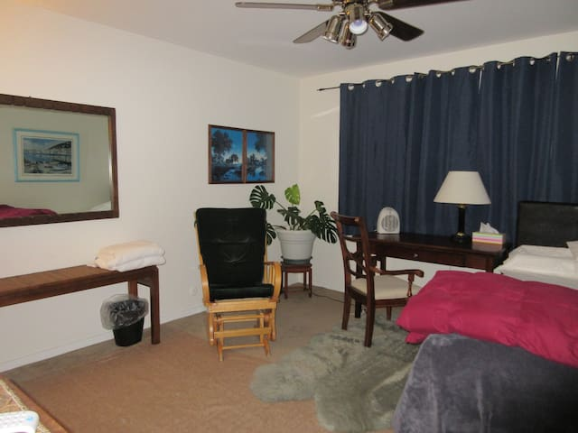 Clean Private Front Room Friendly Redwood City - Redwood City - Hus