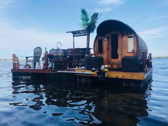 The Dolphin - Eco Friendly Panoramic Float Cabin