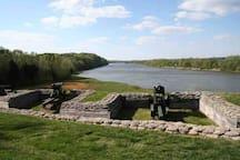 Historic Fort Donaldson.