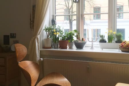 Studio apartment +bikes! Splendid local experience - 코펜하겐(Copenhagen) - 아파트