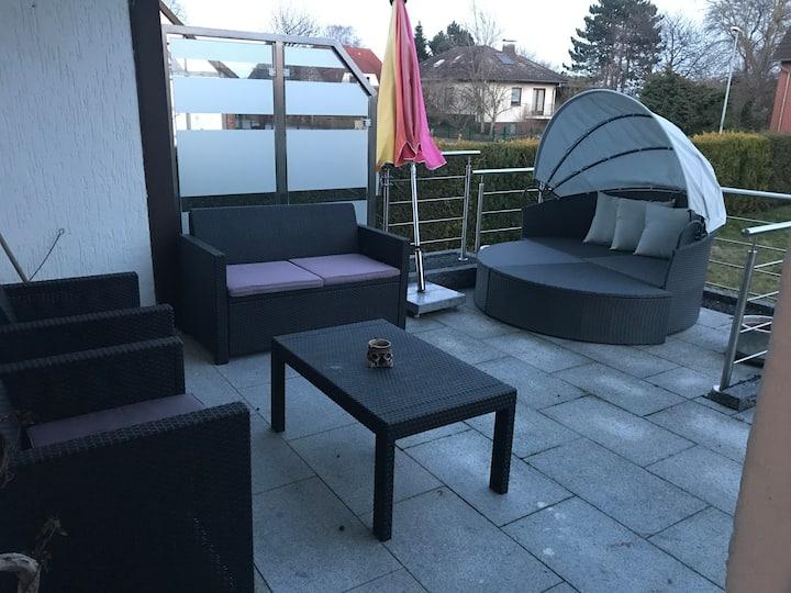 Ruhige ein zimmerwohnung in Ronnenberg