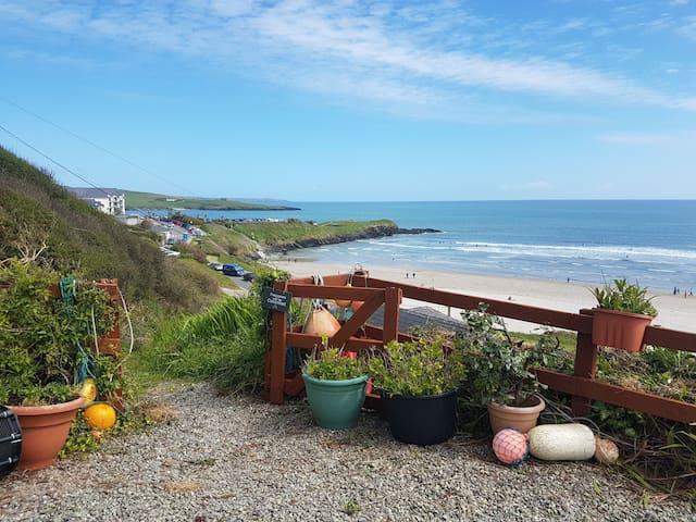 Idyllic Inchydoney beach cottage, wonderful views!