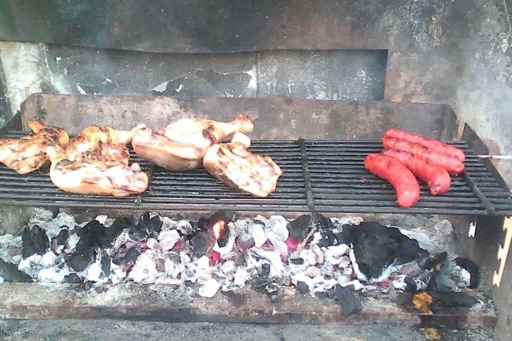 BBQ Area.