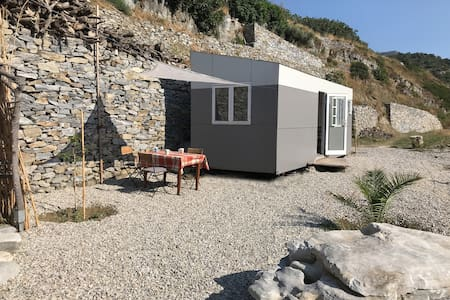 Tiny House with sea view in Fytema, Ikaria