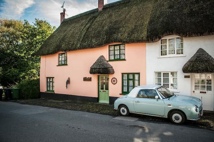 Fairytale thatched cottage & garden