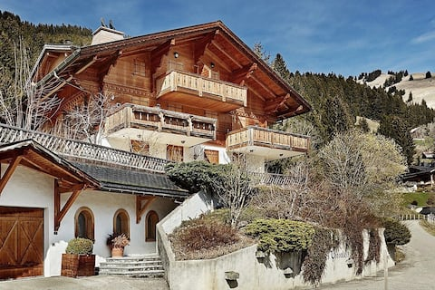 Scenic Luxury Apartment 7min from Gstaad