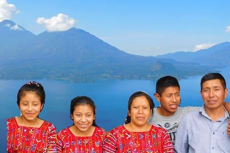 Maison d'hôtes El Mirador del Lago Atitlan