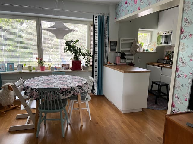 Apartment in old Tapiola, near Aalto University