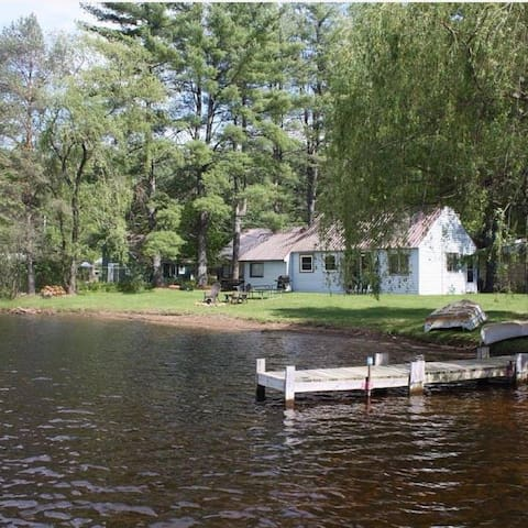 Waterfront  4 BR with dock