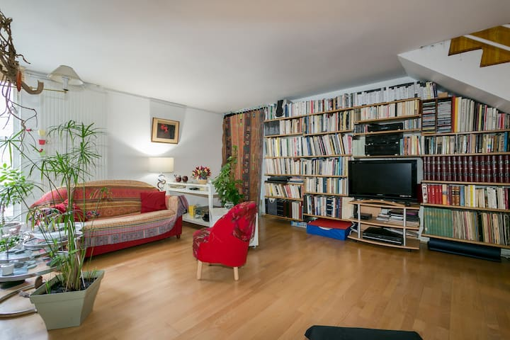Appartement 15e, 3 chambres, balcon - Paris - Wohnung