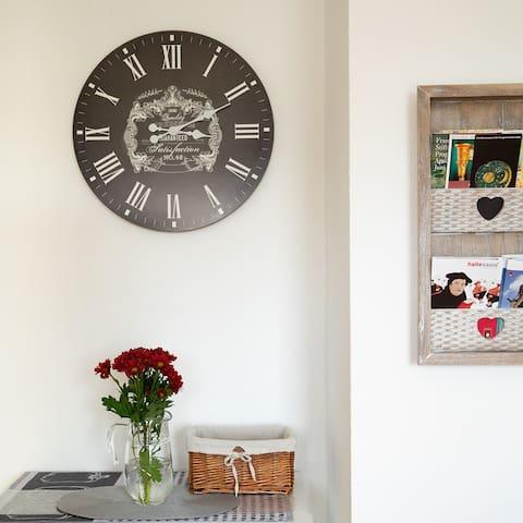 Mit Liebe eingerichtete Wohnung