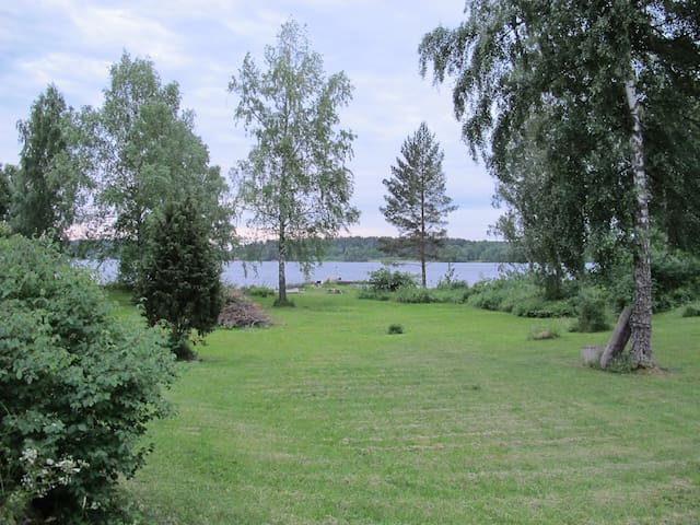 Private waterfront vacation retreat with dock - Färentuna, Ekerö - Huis