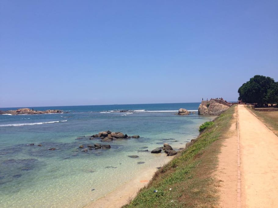 Galle Fortress beach