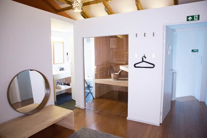 Luxe BNB Nest Sauna Room (new from 12/7/18)