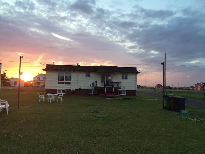 La maison de la plage du nord